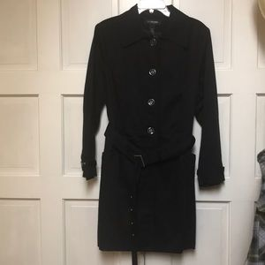 Lane Bryant Black Trench Size 18/20 ..Never Worn!